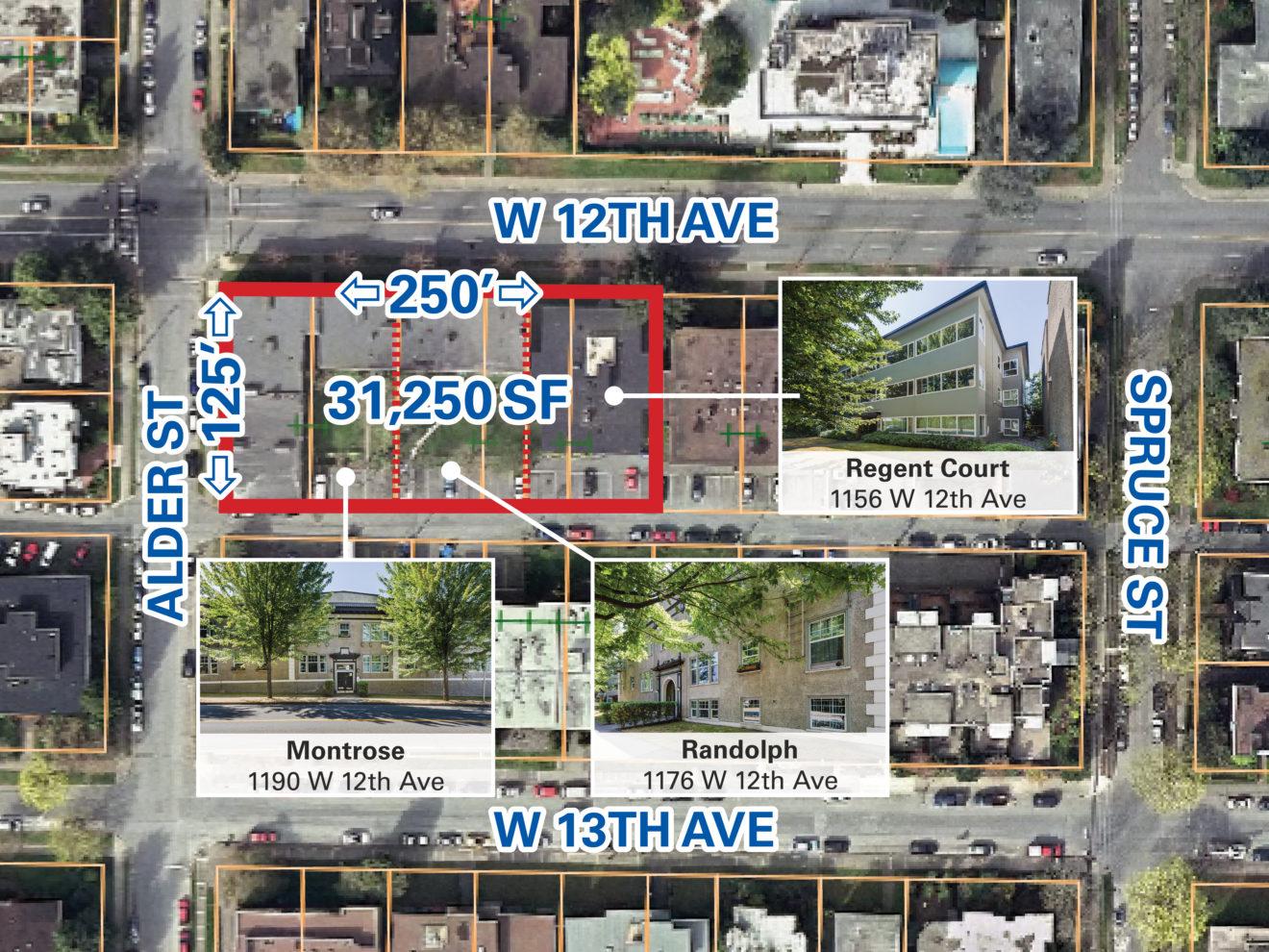 South Granville Apartment Portfolio – 31,250 SF